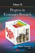 Progress in Economics Researchvolume 28