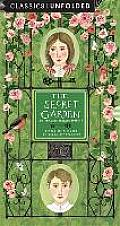 The Secret Garden Unfolded: Retold in Pictures by Becca Stadtlander - See the World's Greatest Stories Unfold in 14 Scenes
