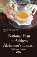 National Plan to Address Alzheimer's Disease