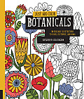 Just Add Color Botanicals 30 Original Illustrations To Color Customize & Hang