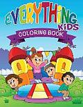 Everything Kids Coloring Book