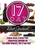 17 Day Diet Journal
