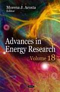 Advances in Energy Researchvolume 18