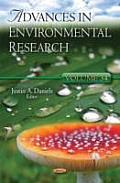 Advances in Environmental Researchvolume 34