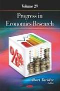 Progress in Economics Researchvolume 29