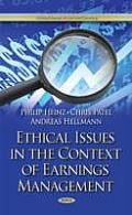 Ethical Issues in the Context of Earnings Management