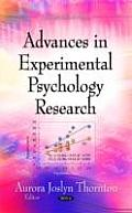 Advances in Experimental Psychology Research