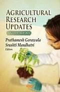 Agricultural Research Updatesvolume 8