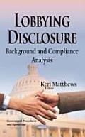 Lobbying Disclosure