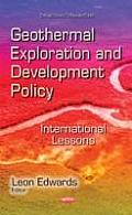 Geothermal Exploration and Development Policy