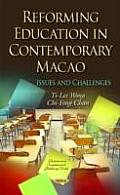 Reforming Education in Contemporary Macao