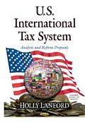 U.S. International Tax System