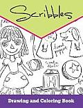 Scribbles: Drawing and Coloring Book