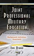 Joint Professional Military Education