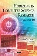 Horizons in Computer Science Researchvolume 10