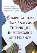 Computational Data Analysis Techniques in Economics and Finance