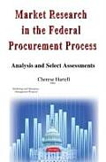 Market Research in the Federal Procurement Process