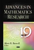 Advances in Mathematics Researchvolume 19