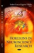 Horizons in Neuroscience Researchvolume 17
