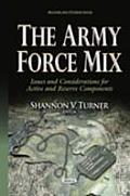Army Force Mix