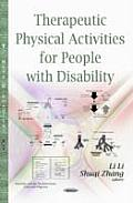 Therapeutic Physical Activities for People with Disability
