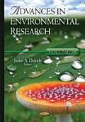 Advances in Environmental Researchvolume 38