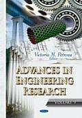 Advances in Engineering Researchvolume 9