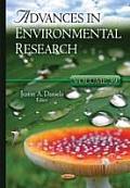 Advances in Environmental Researchvolume 39