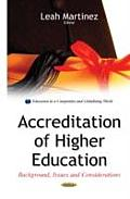 Accreditation of Higher Education