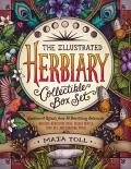 Illustrated Herbiary Collectible Box Set Guidance & Rituals from 36 Bewitching Botanicals Includes Hardcover Book Deluxe Oracle Card Set & Carrying Pouch