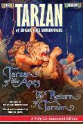 Tarzan of the Apes and The Return of Tarzan: The Tarzan Duology of Edgar Rice Burroughs: A Pulp-Lit Annotated Edition