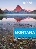 Moon Montana With Yellowstone National Park