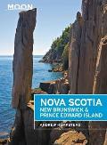 Moon Nova Scotia New Brunswick & Prince Edward Island
