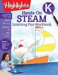 Kindergarten Hands On STEAM Learning Fun Workbook