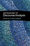 Approaches to Discourse Analysis