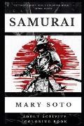 Samurai Adult Activity Coloring Book