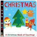 Christmas: A Peek-Through Christmas Book of Counting