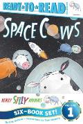 Really Silly Animals Ready-To-Read Value Pack: Space Cows; Party Pigs!; Knight Owls; Sea Sheep; Roller Bears; Diner Dogs