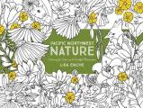 Pacific Northwest Nature Coloring for Calm & Mindful Observation