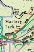 Forest Park Map Green Trails