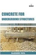 Concrete for Underground Structures