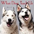 What Dogs Teach Us 2017 Wall Calendar