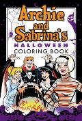 Archie & Sabrinas Halloween Coloring Book