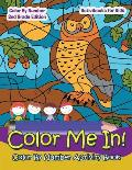 Color Me In! Color By Number Activity Book - Color By Number 2Nd Grade Edition