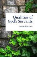 Qualities of God's Servants