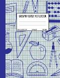 Graph Paper Notebook: Quad Ruled 5 Squares Per Inch Notebook for Students, Math and Science Composition Notebook