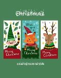 Christmas Coloring Book for Kids: Coloring Toy Gifts for Children or Toddlers - Cute Easy and Relaxing Large Print Birthday Gifts