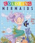 Coloring mermaids - Volume 1: Coloring Book For Children - 25 Drawings