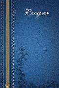Recipes: Blank Recipe Journal