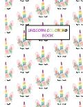 Unicorn Coloring Book: Unicorn Gifts for Toddlers, Girls Ages 3 4-8 8-12 - Cute Easy and Relaxing Birthday Coloring Book Made in USA